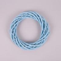Вінок з лози блакитний 25 см. 39071