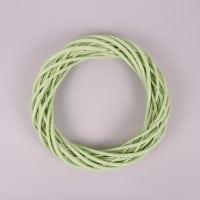 Вінок з лози світло-зелений 30 см. 39078