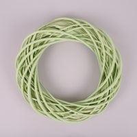 Вінок з лози світло-зелений 35 см. 39082