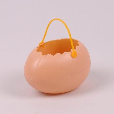 Фото Яйце декоративне для великодніх композицій бежеве 44123
