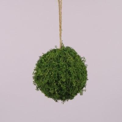 Фото Куля декоративний з моху D-15 см. 44136