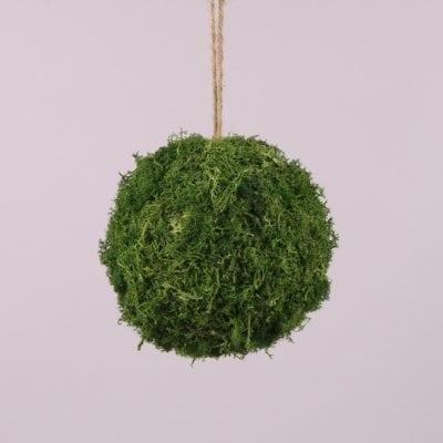 Фото Куля декоративний з моху D-18 см. 44137
