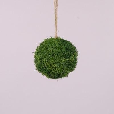 Фото Куля декоративний з моху D-12 см. 44191