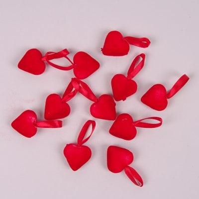 Фото Підвіска декоративна Серце 12 шт. 44166