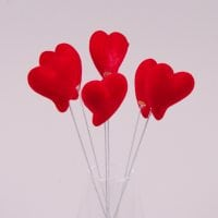 Декорация Сердце на пике (6 шт.) 44168