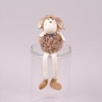 Декоративна іграшка Баранчик 28 см. (ціна за 1 шт.) 44193