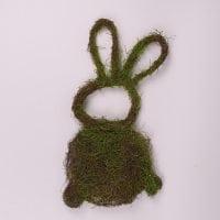 Заєць декоративний з ротанга 60 см. 44210