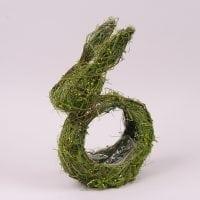 Заєць декоративний з ротанга 38 см. 44211