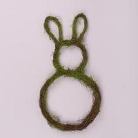 Заєць декоративний з ротанга 49 см. 44212