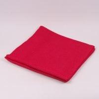 Ткань из мешковины красная 150 см. х 160 см . 44216