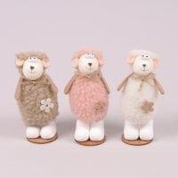 Декоративна іграшка Баранчик мікс 12 см. (ціна за 1 шт.) 44229