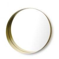 Зеркало металлическое настенное 50 см. 30469