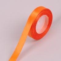 Лента оранжевая 1,5 см (25 м.) 44238