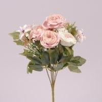 Букет Камелий кремово-розовый 72294