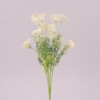 Букет декоративний з білим цвітом 72327