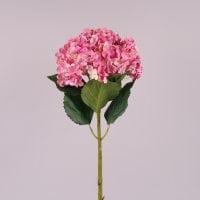 Цветок Гортензия розовый 75 см. 72292