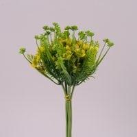 Букет декоративний з жовтим цвітом 72298