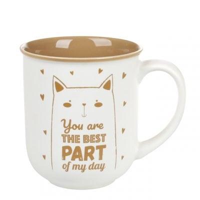 Чашка фарфоровая Perfect Day 0,35 л. 31963