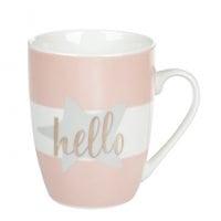Чашка фарфоровая Hello Love 0,32 л. 31971