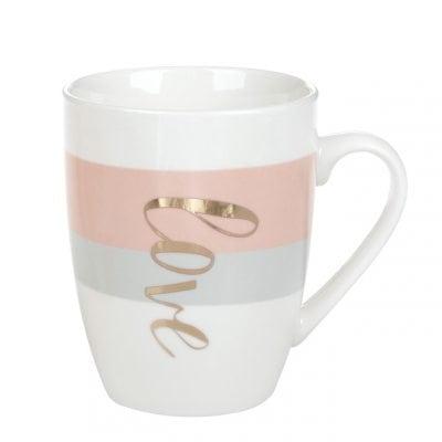 Чашка фарфоровая Hello Love 0,32 л. 31972