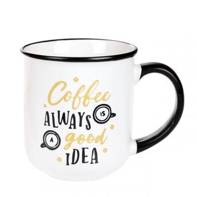 Чашка фарфоровая Coffee 0,38 л. 31980