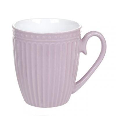Чашка керамическая фиолетовая 0,36 л. 31983