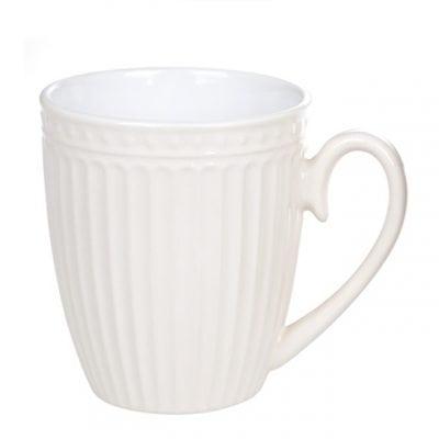 Чашка керамическая кремовая 0,36 л. 31984