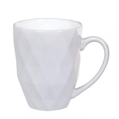 Чашка керамическая Ромб серая 0,53 л. 31988