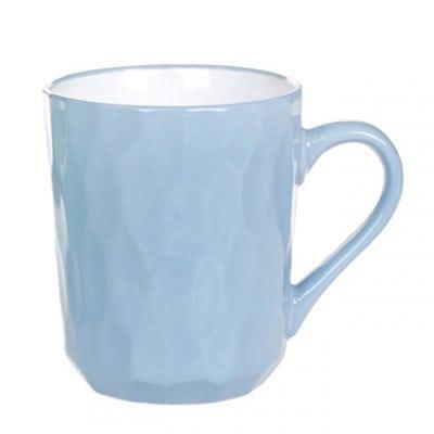 Чашка керамическая Пастораль голубая 0,35 л. 32003