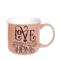 Чашка фарфоровая Home and Love 0,4 л. 32015