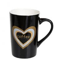 Чашка фарфорова Love Coffee 0,4 л. 32028