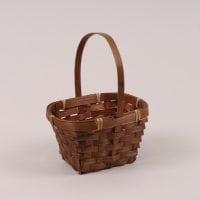Кошик бамбуковий коричневий 37479
