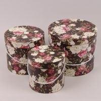 Комплект коробок для квітів 3 шт. 41546