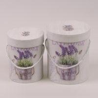 Комплект коробок для квітів 2 шт. 41547