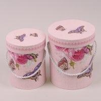 Комплект коробок для квітів 2 шт. 41548