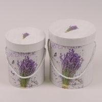 Комплект коробок для квітів 2 шт. 41549