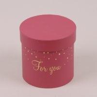 Коробка для квітів червона 5 шт. (ціна за 1 шт.) 41550