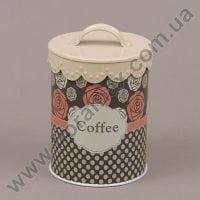 Банка металева для сипучих 30506 Coffee