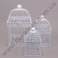 Декорація металева Клітка 3 шт. 23997