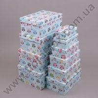 Комплект коробок для подарков 10 шт 24436
