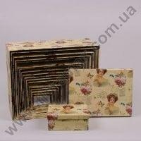 Комплект коробок для подарков 18 шт 24238
