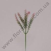 Гілочка декоративна рожева 70350