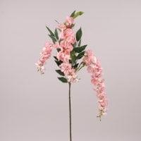 Ветка Глицинии свисающая розовая 72432