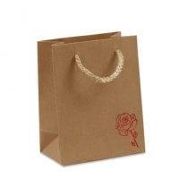 Пакет подарунковий крафт 11х6.5х14 (12 шт.) 41738