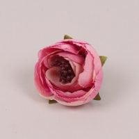 Головка Камелии мини темно-розовая 23846