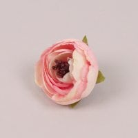 Головка Камелии мини светло-розовая 23847