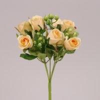 Букетик Роз персиковый 72474