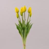 Букет Тюльпанов из латекса желтый 72590