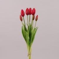 Букет Тюльпанов из латекса красный 72592