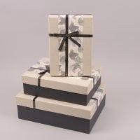 Комплект коробок для подарков 3 шт. 41701